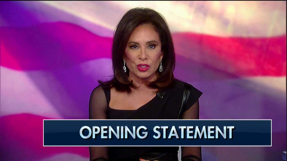 .@JudgeJeanine: 'Members of the @FBI and @TheJusticeDept - some of whom actually ended up on Bob Mueller's team to prosecute @realDonaldTrump - did everything they could to exonerate @HillaryClinton for her crimes and incriminate @POTUS with a non-existent crime.'