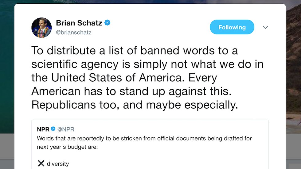 Dem senator urges GOP to stand up to Trump over CDC word ban: This isn't what we do in America https://t.co/d3z851BXfo
