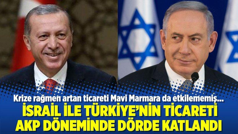 İsrail ile Türkiye'nin ticareti AKP döne...
