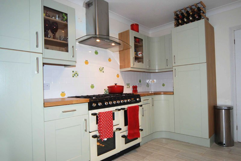 Captivating Ewan From Hereford Shows Us His Newly Fitted Innova Linwood Sage Kitchen  Supplied By DIY Kitchens   Http://bit.ly/CustomerKitchens U2026pic.twitter.com/  ...
