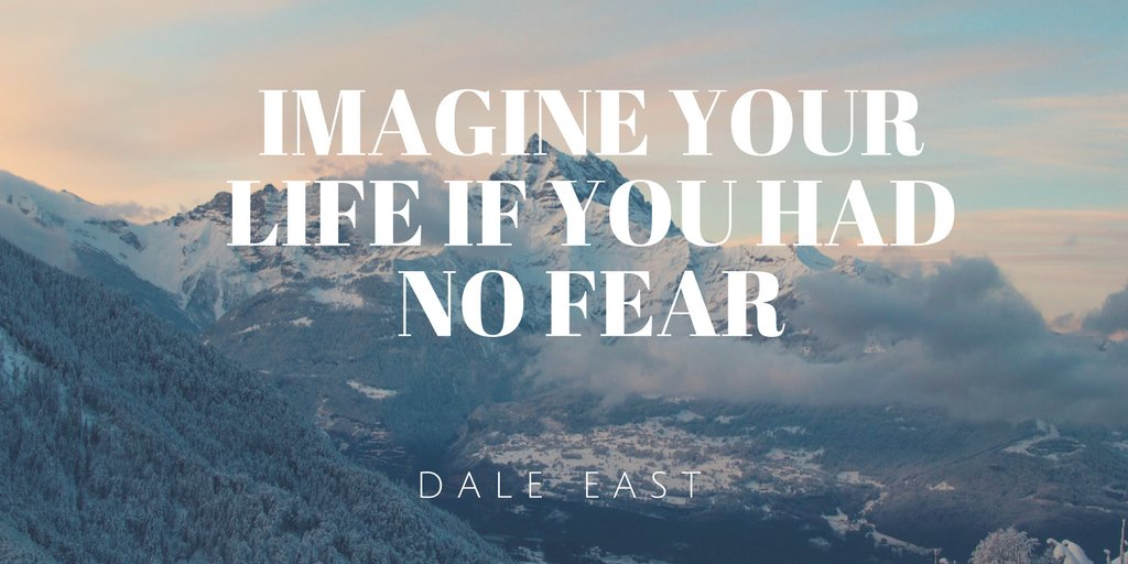 RT @DaleEast: Imagine your life without fear, what could you accomplish? #motivation https://t.co/MYRMSRAxen https://t.co/f4hIqheyXY