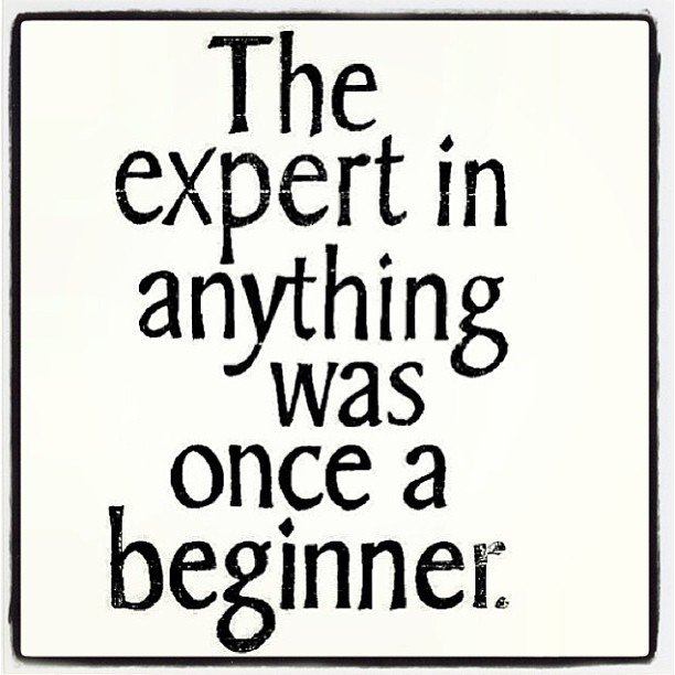 The expert in anything was once a beginner - #motivation - https://t.co/I5B1fI5a2U https://t.co/WwhkvTND0c