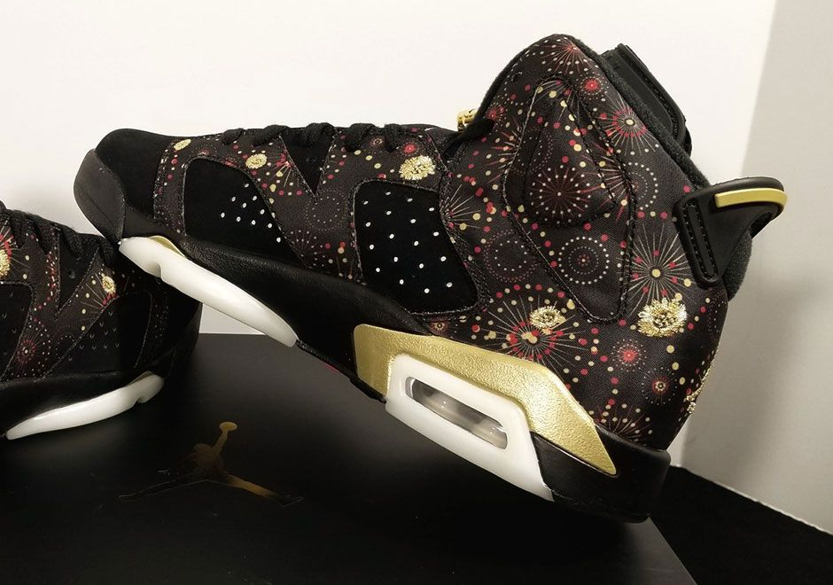 8c2f7a3d602bca Fireworks and floral patterns help Jordan Brand celebrate the Chinese New  Year http   snkrne.ws 2iFKRU8 pic.twitter.com d68fdIju5o