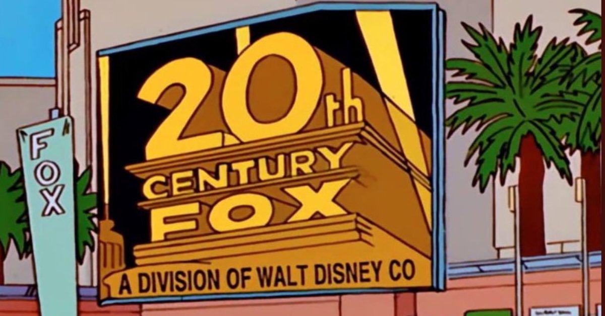 'The Simpsons' predicted Disney would buy Fox nearly 20 years ago https://t.co/hH3oAWPhb8