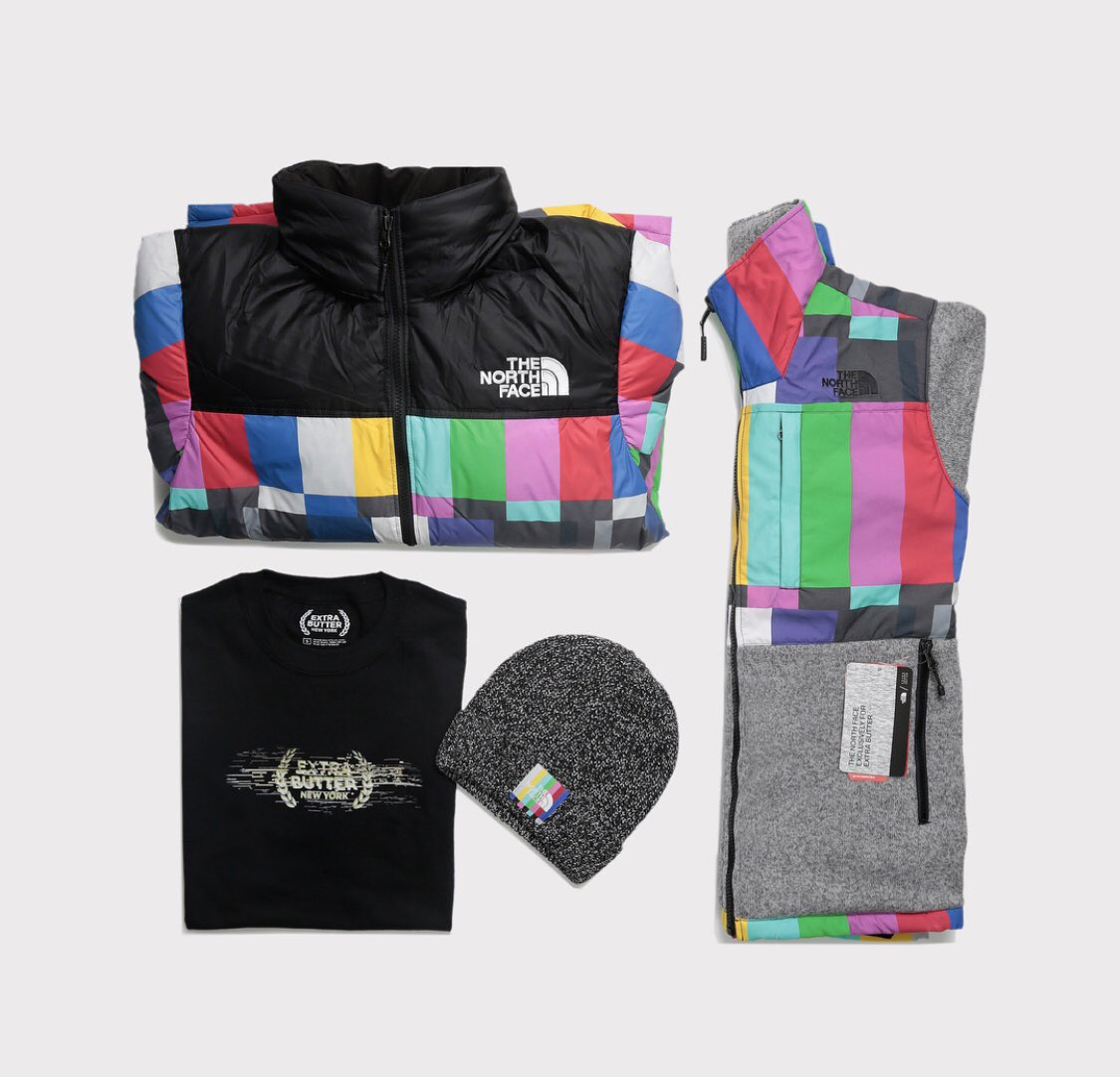 "Extra Butter x The North Face ""Technical Difficulties"" Collection is now  available on http   EXTRABUTTERNY.COM pic.twitter.com 7Pa2RxQcwA b85f5ff32"