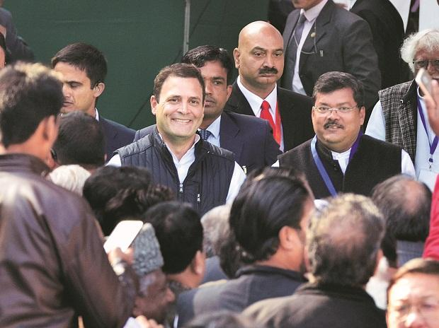 Rahul Gandhi sworn in as Congress president, hits out at PM Narendra Modi @ArchisMohan  https://t.co/b9BgQK4Q4G
