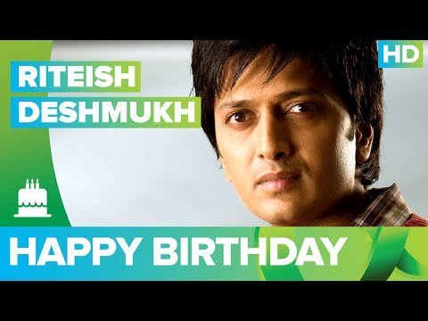 Happy Birthday Riteish Deshmukh !!!!! -  The Times24