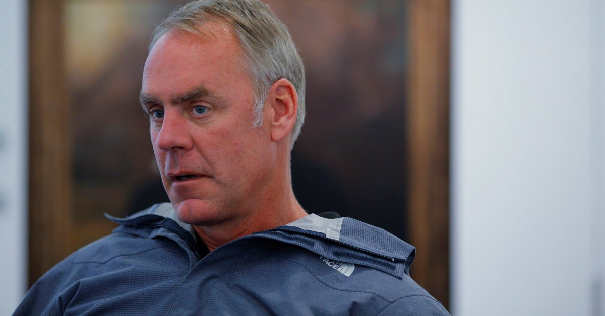 Ryan Zinke fires 4 Department of Interior employees for harassment https://t.co/bmeNNKpgj6