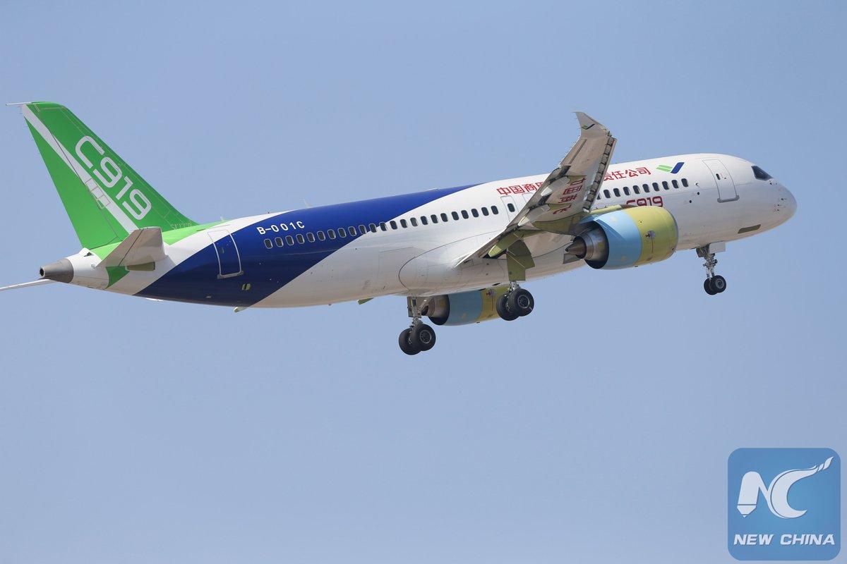 homegrown large passenger plane - 800×450