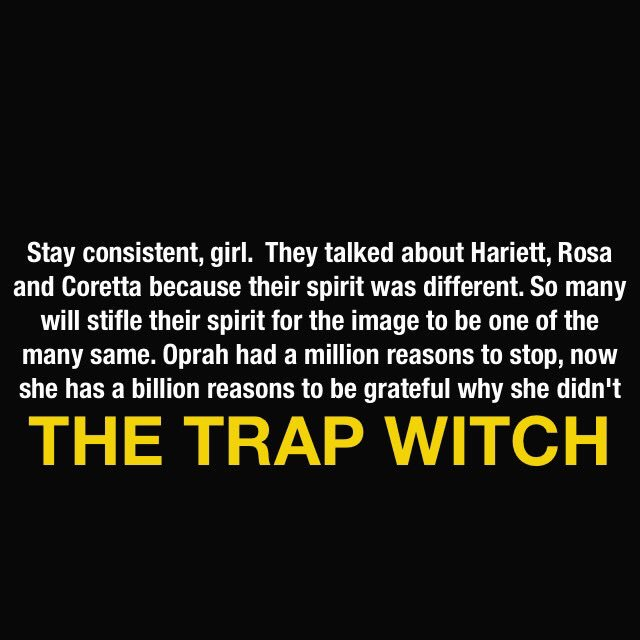 The Trap Witch on Twitter: