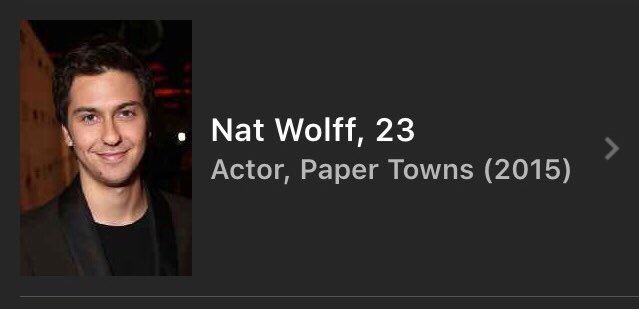Happy birthday to NBB front man Nat Wolff