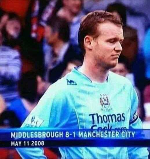 Manchester City before Arab money existed... 😂😂