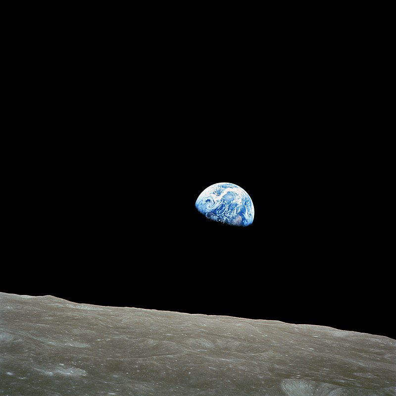 It took one photo to change the way we viewed the world forever.  December 24, 1968.  Earthrise. https://t.co/MMX6F3BTvJ