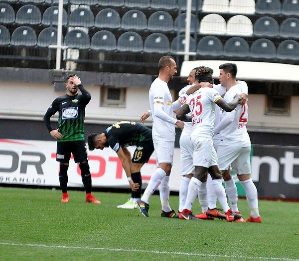 Maç sonucu: TM Akhisarspor 0-2 Kayserisp...