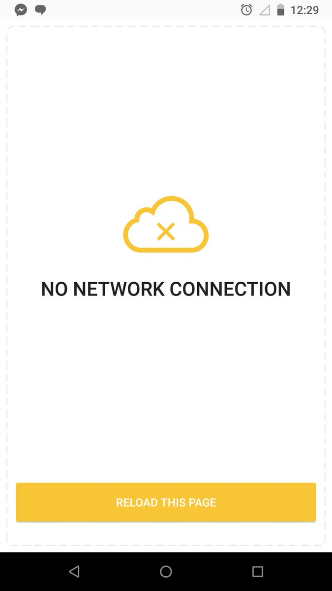 Bumble says no network connection my Location services