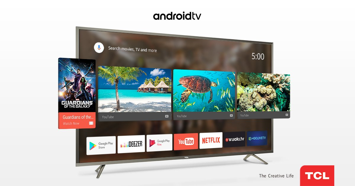 android tv update tcl