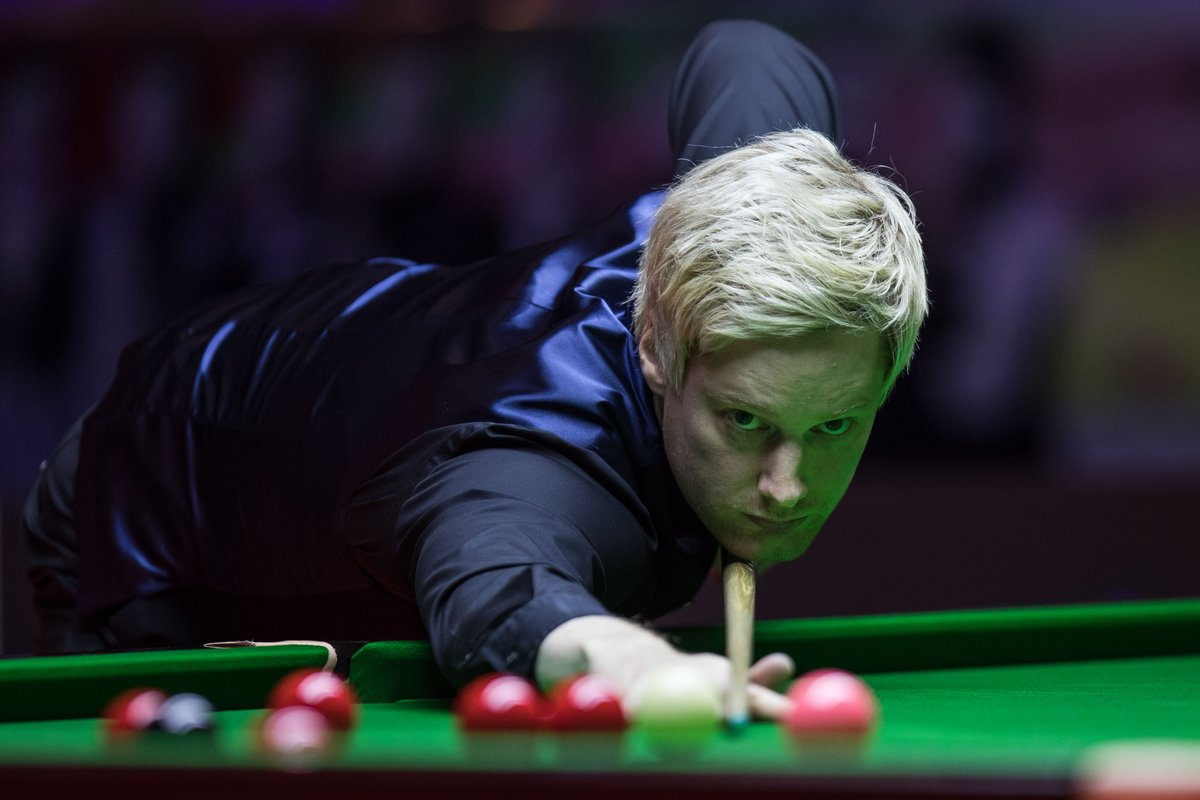 Former world number one Neil Robertson held off a John Higgins fightback to set up a Scottish Open final against China's Cao Yupeng.  https://t.co/Zu2lRzjGLj