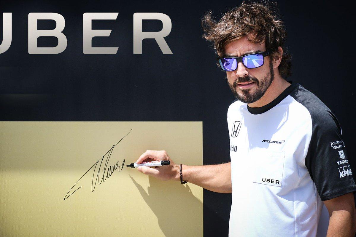 Fernando Alonso ficha por Uber https://t.co/DI11zqnuts