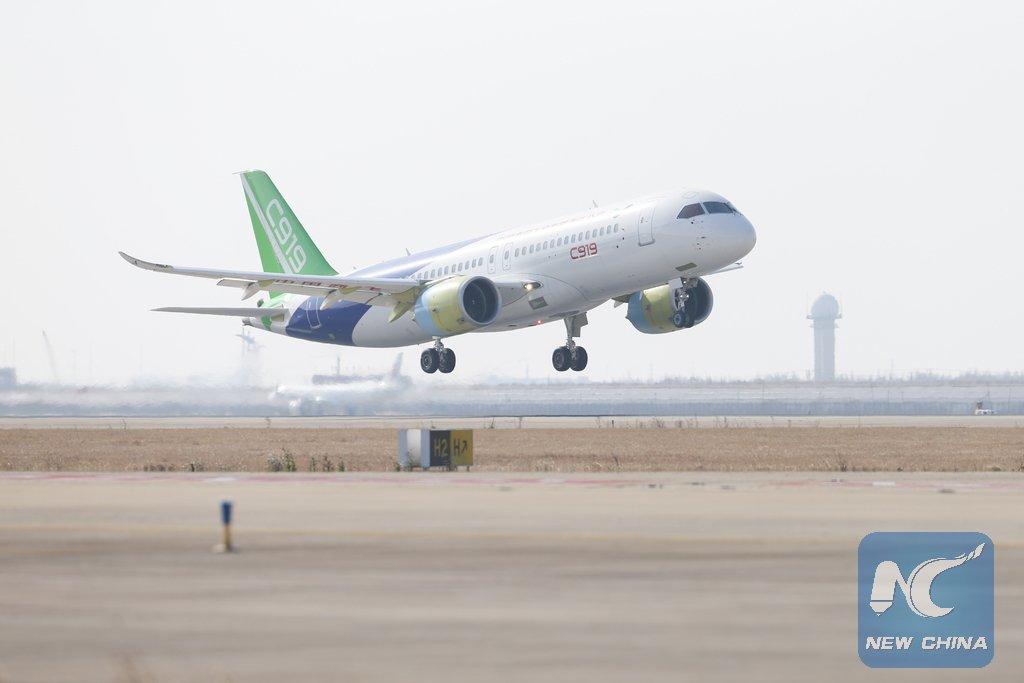 homegrown large passenger plane - 900×600