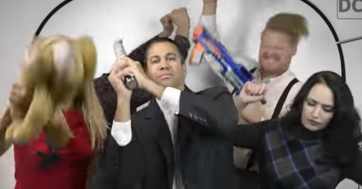 'Harlem Shake' creators threaten legal action against FCC chairman Ajit Pai https://t.co/S52ozhrdN7