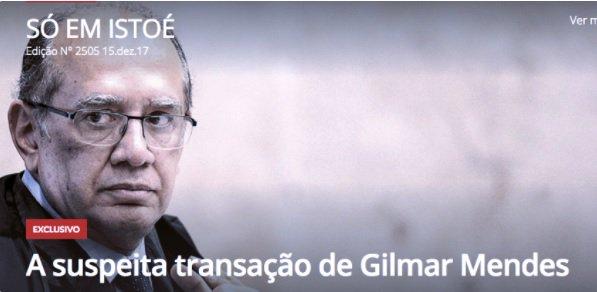As dúvidas sobre a ofensiva das semanais contra Gilmar, por Luís Nassif https://t.co/sKfvMqyzBS