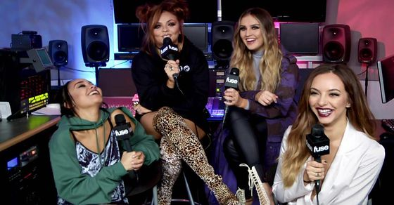 Watch @LittleMix discuss authenticity & why Beyoncé inspires them: https://t.co/OQN81iH2KF