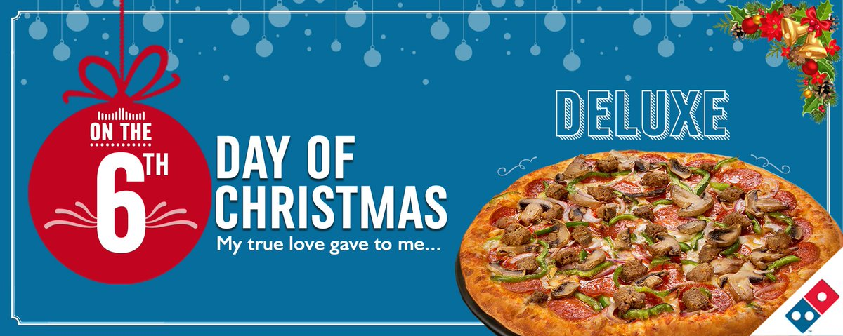 Is Dominos Open On Christmas.Domino S Pizza Ng On Twitter It S Day 6 The More The