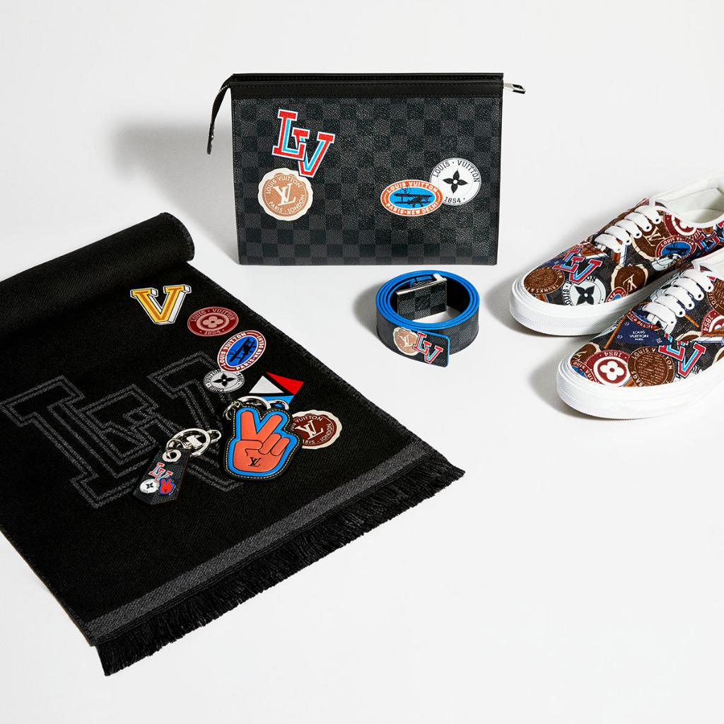 Gifts from #LouisVuitton's impeccable line of League accessories range from hip shoes to playful key rings, with personalized hot-stamping available. https://t.co/CGhHl29H8m #LVGifts