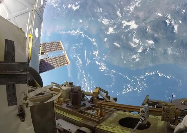 RT @Slate: Watch the view from an astronaut's GoPro on a spacewalk above Earth: https://t.co/AWkElFjMqH https://t.co/v9evpjvaT7