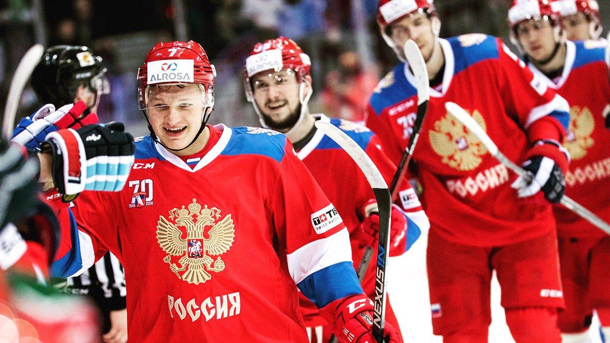 Лучшие! Хоккейная дружина, спасибо! 🇷🇺  Российские хоккеисты победили финнов и выиграли этап Евротура!  https://t.co/7MvdAz2WVW
