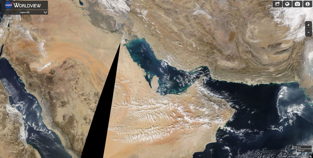 Thanks for all your votes in today' #whereonearthisthiss . Well done if you said the Persian Gulf, here's a wider view