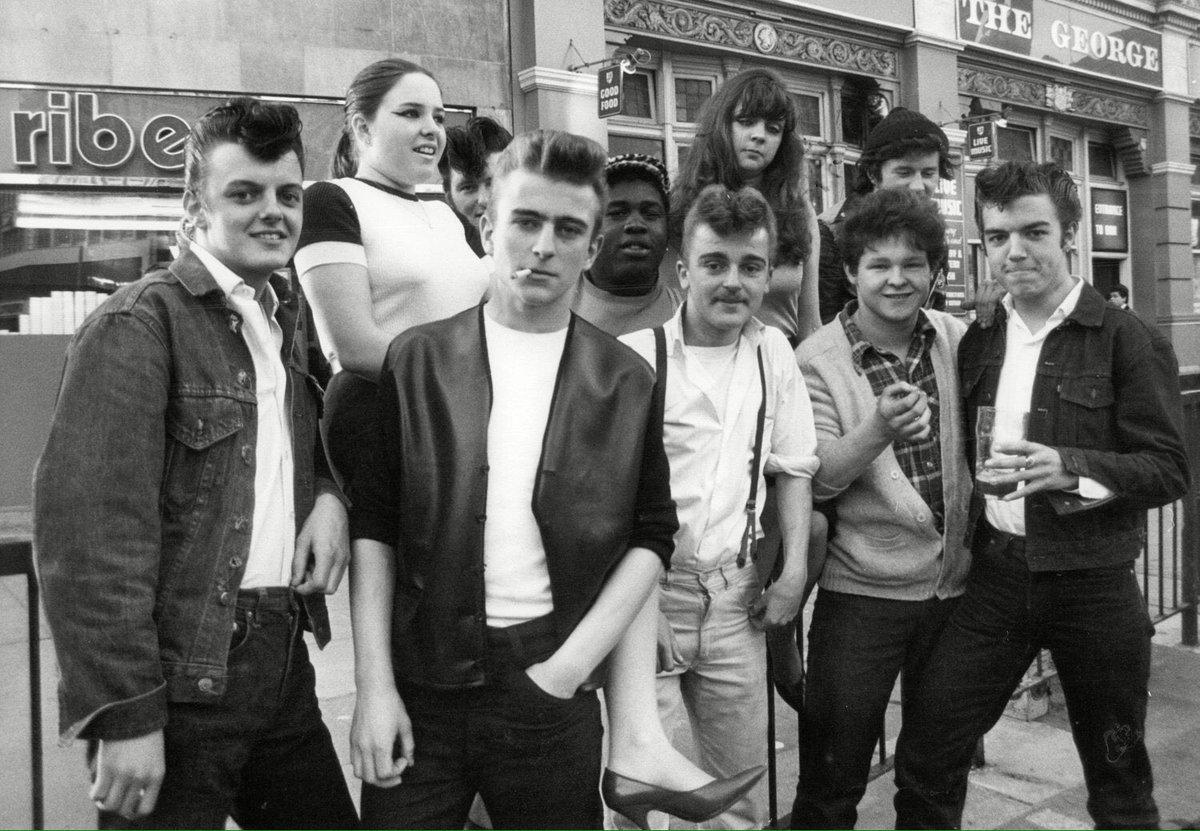 "Edwardian Teddy Boy Suits Tailors In London: Abbie On Twitter: ""teddy Boys, 1950s The Teddy Boy"