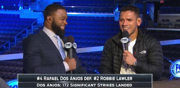 UFC | Após vitória no Canadá, Rafael dos Anjos desafia Woodley cara a cara https://t.co/eRsHDP70A6