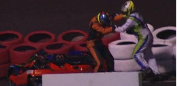Pilotos trocaram socos | Massa lamenta violência no kart: 'O que a minha equipe fez é triste' https://t.co/0MduVsQM7X