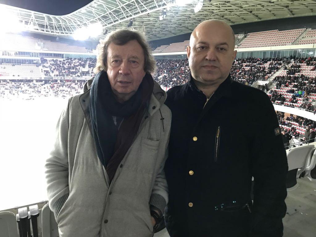 Сёмин присутствовал на матче «Ницца» — «Бордо» в компании Селюка