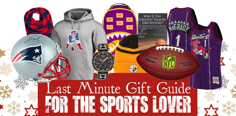 Last Minute Gift Guide for the Sports Lover!  We are in the final countdown to Christmas, and the NFL is quickly...