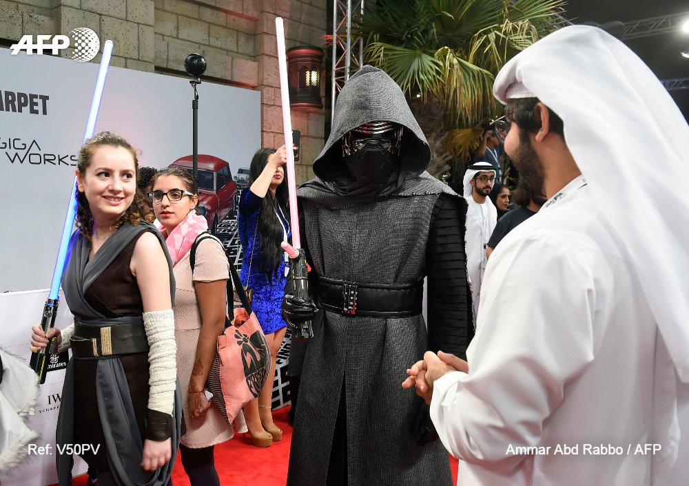 #ÚLTIMAHORA 'Star Wars: The Last Jedi' es el segundo mejor estreno en Norteamérica #AFP