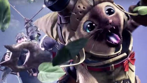 This trailer for Monster Hunter: World is all about Palicos, who are fully customizable feline companions. https://t.co/UCozkdjuyC