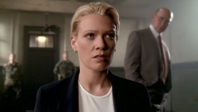 Happy to Laurie Holden, the brilliant actress who brought Marita Covarrubias to life on