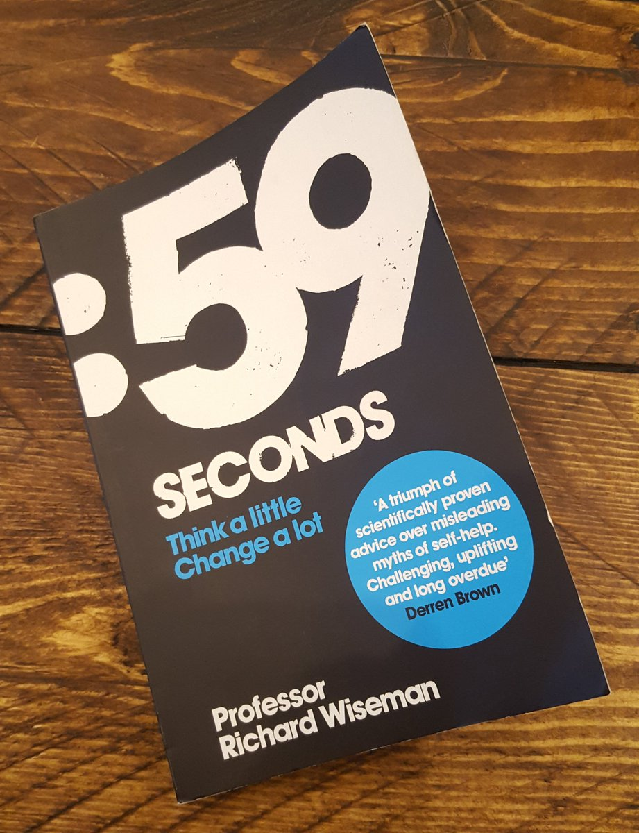 59 Seconds Richard Wiseman 59seconds hashtag on twitter