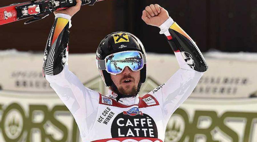 Ski. Coupe du monde - Géant : Hirscher l'emporte, Pinturault 9e https://t.co/5VxeaIcQRJ