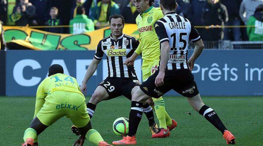 Ligue 1. FC Nantes - Angers Sco: les compositions pour le derby! https://t.co/H7Vo4xOHhJ