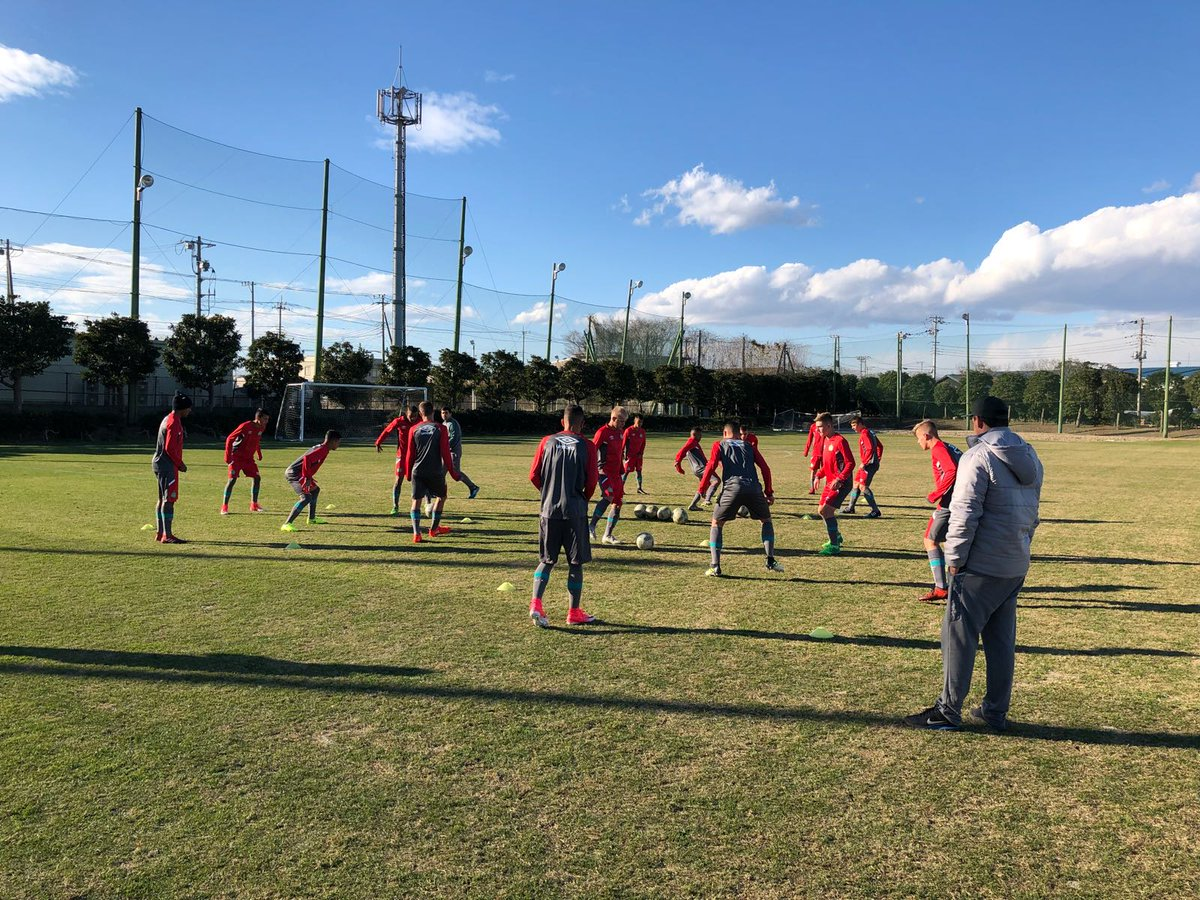 Sub-17 treinou no CT do Kashima! Amanhã tem amistoso contra a equipe da casa! ⚽💚🏹 #VamosChape https://t.co/2CI5nZXvOO