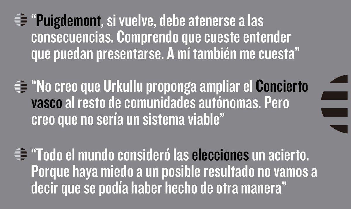 Cospedal se pronuncia sobre todo sin reservas: la situación catalana, la subida de C's, el 21-D. Aquí la entrevista: https://t.co/ZySlFBM0P0