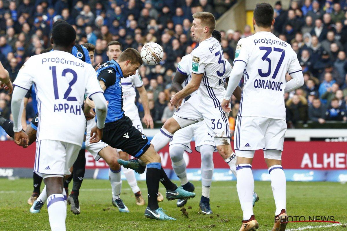 Beric et Anderlecht coulent à Bruges