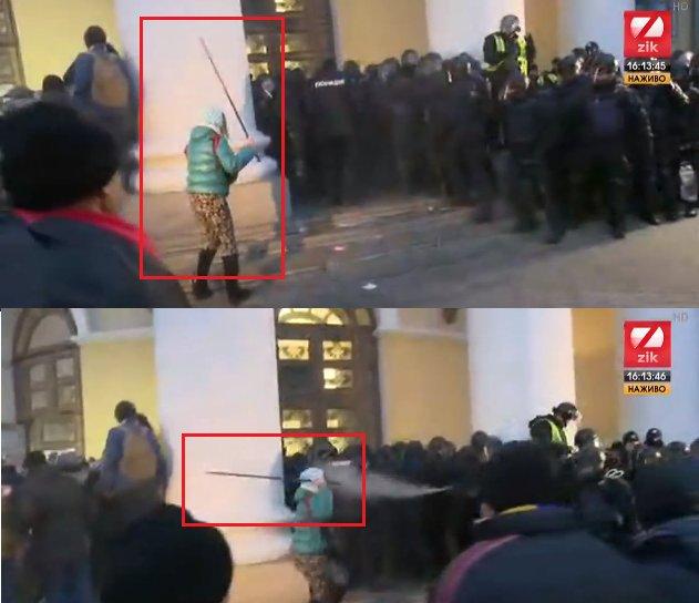 Поліція відкрила кримінальне провадження, всіх причетних до захоплення будівлі Жовтневого встановлять, - Аброськін - Цензор.НЕТ 8431