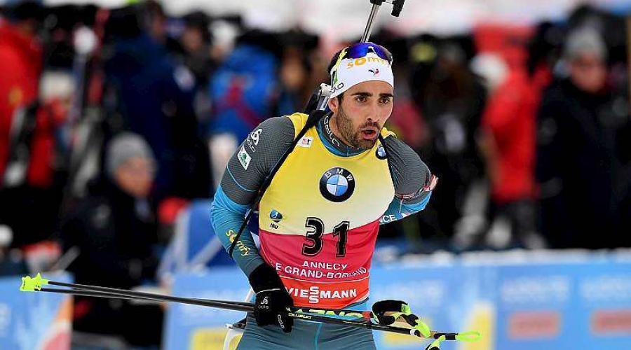 Biathlon - Coupe du monde au Grand-Bornand. Martin Fourcade enfin devant Johannes Boe https://t.co/ejYtebcw0v