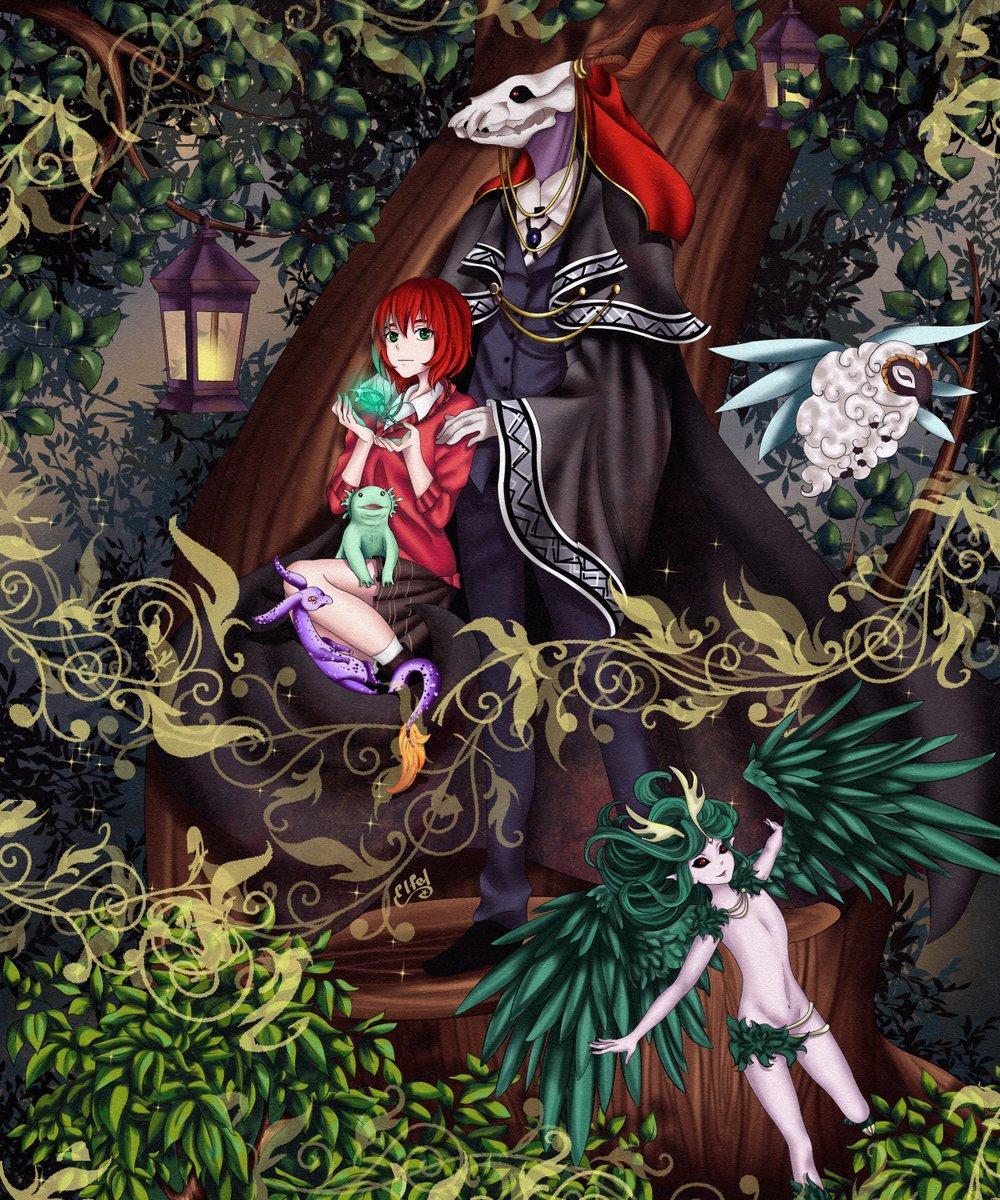 Картинка аниме невеста чародея