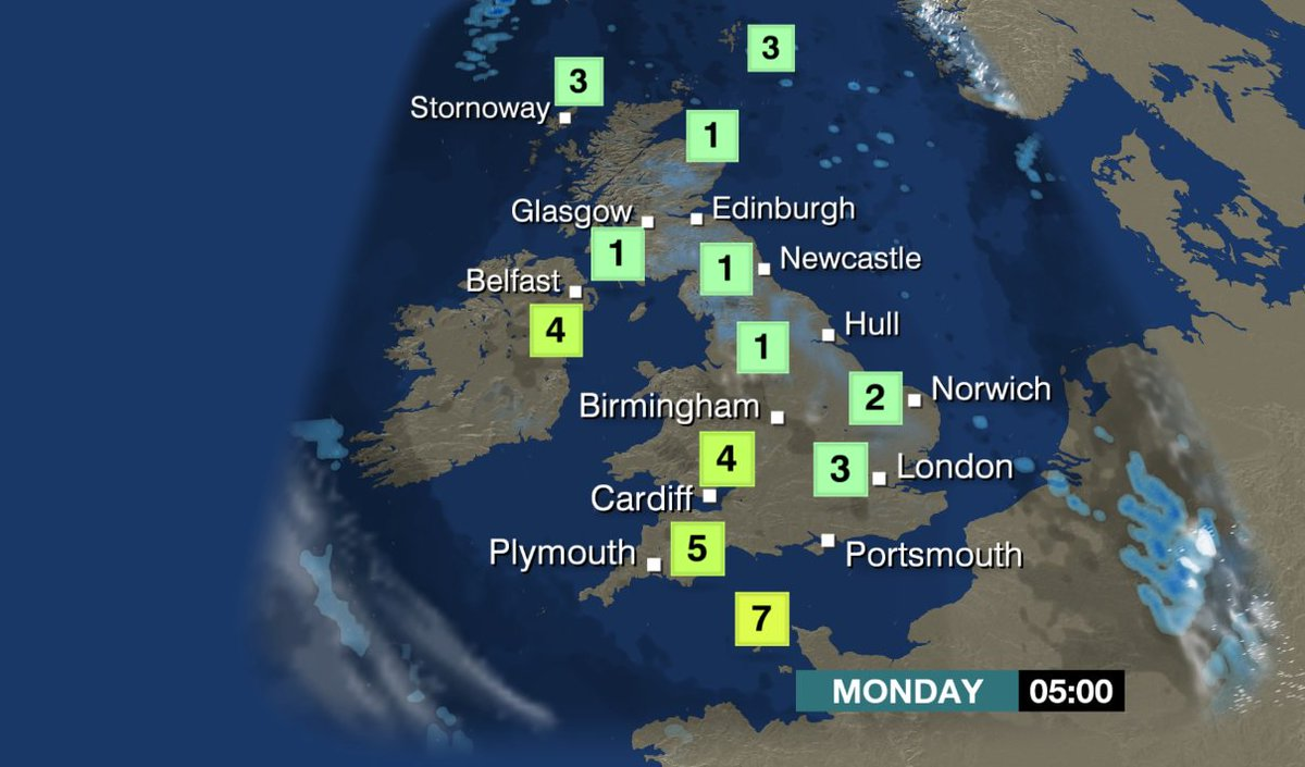 Not much difference between 5am and 5pm on Monday.  Pretty chilly all round.  https://t.co/OuTjm18cwo #December LM