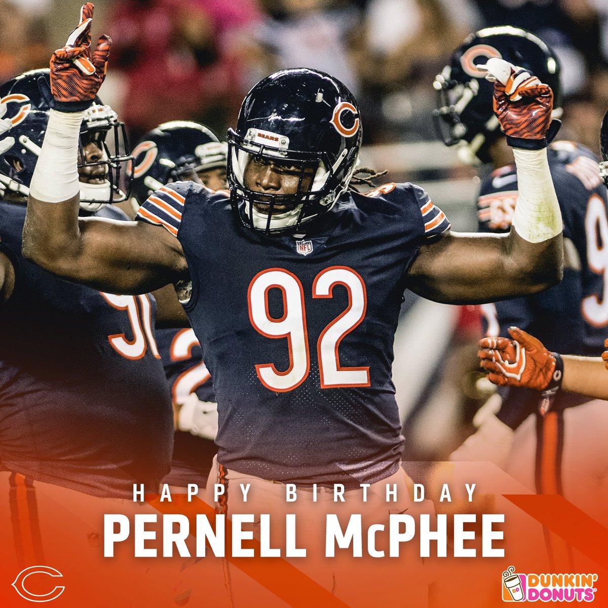 Happy Birthday, @PernellMcPhee!  🐻⬇️